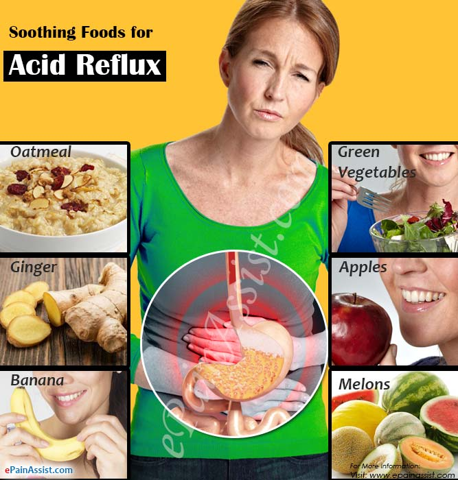 Soothing Foods for Acid Reflux