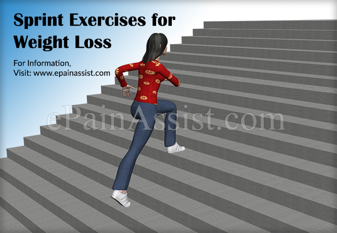 Sprints Exercises for Weight Loss