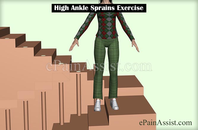 High Ankle Sprains Exercise
