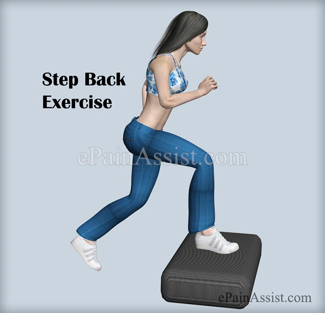 Step Back Exercise For Ankle Joint Ligament Injury!