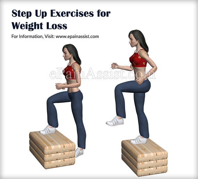 Step Up Exercises for Weight Loss