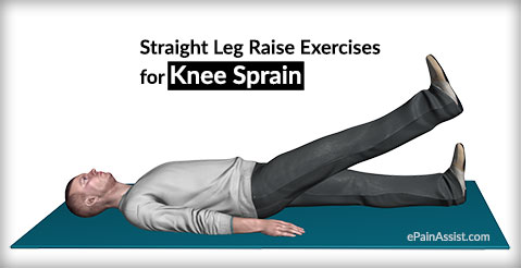 Straight Leg Raise Exercises for Knee Sprain