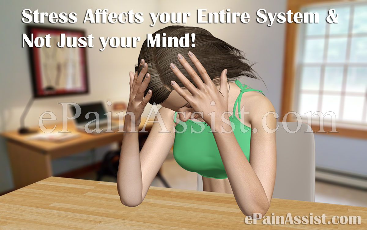 Stress Affects your Entire System and Not Just your Mind!