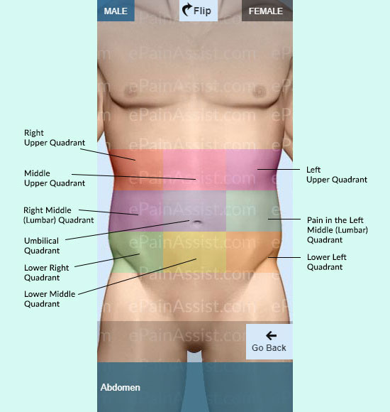 Symptom Checker For Abdominal Pain In Male