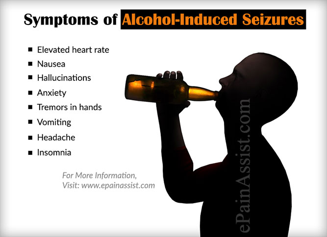 Symptoms of Alcohol-Induced Seizures