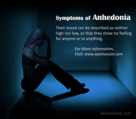 What are the Signs and Symptoms of Anhedonia?