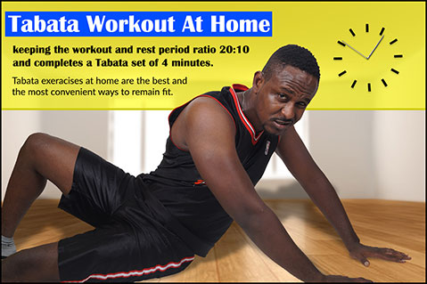 Tabata Workout At Home