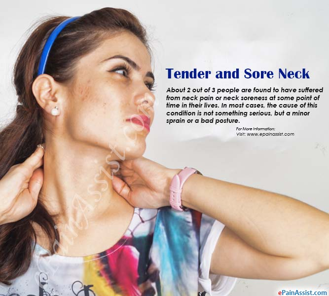 Tender and Sore Neck or Neck Soreness