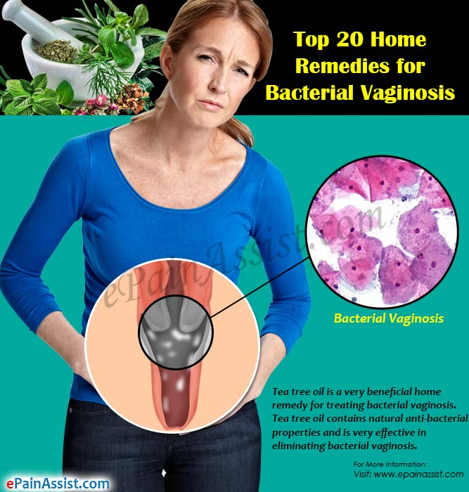 Top 20 Home Remedies for Bacterial Vaginosis