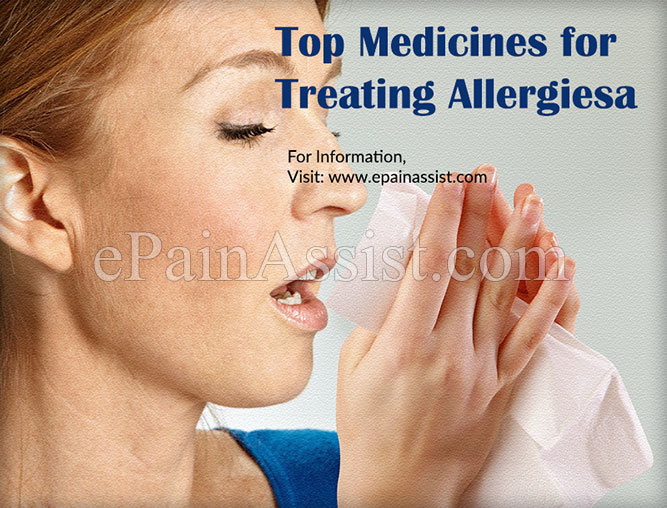 Top Medicines for Treating Allergies