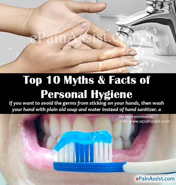 Top 10 Myths & Facts of Personal Hygiene