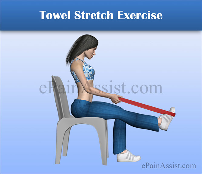 Towel Stretch Exercise To Help Recover From Peroneal Tendon Subluxation or Dislocation