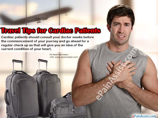 Travel Tips for Cardiac Patients
