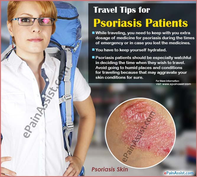 Travel Tips for Psoriasis Patients