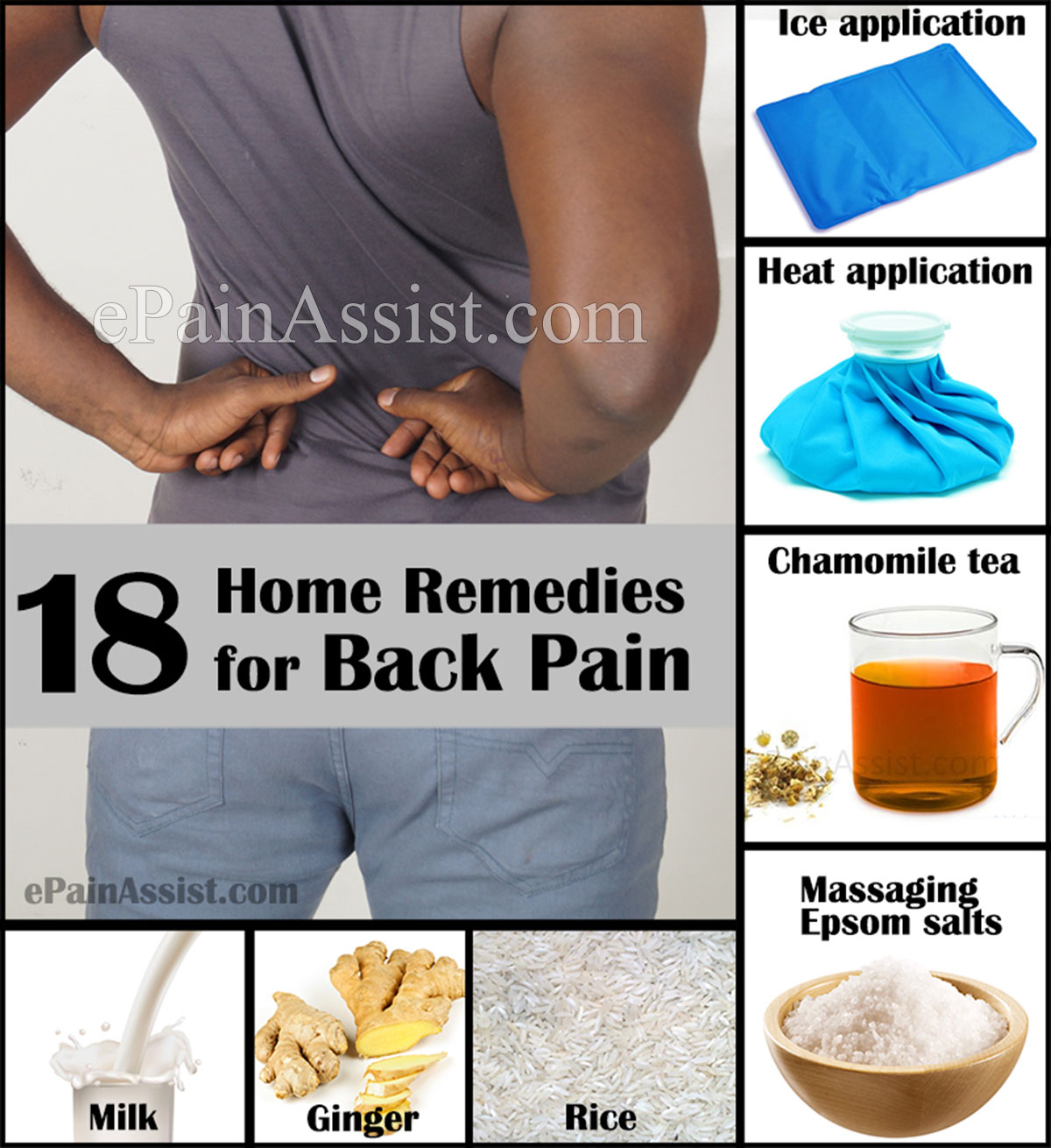 Treating Back Pain With Simple Home Remedies