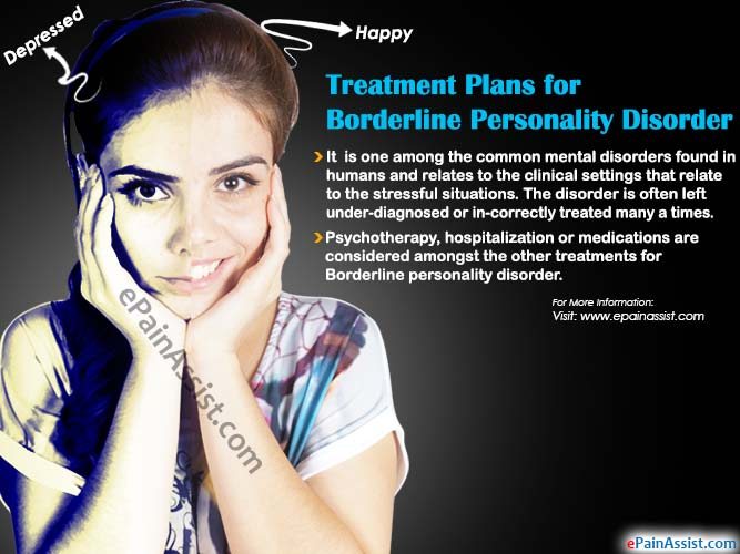 Treatment Plans for Borderline Personality Disorder or BPD