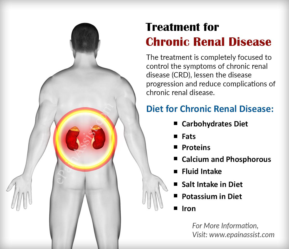 the causes symptoms and treatment of chronic kidney disease Chronic kidney disease can cause many symptoms if you have it, try to learn its treatments, diet, causes, stages, prognosis and life expectancy here.