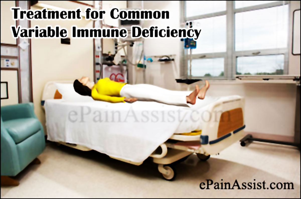Treatment for Common Variable Immune Deficiency (CVID)