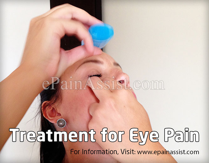 Treatment for Eye Pain
