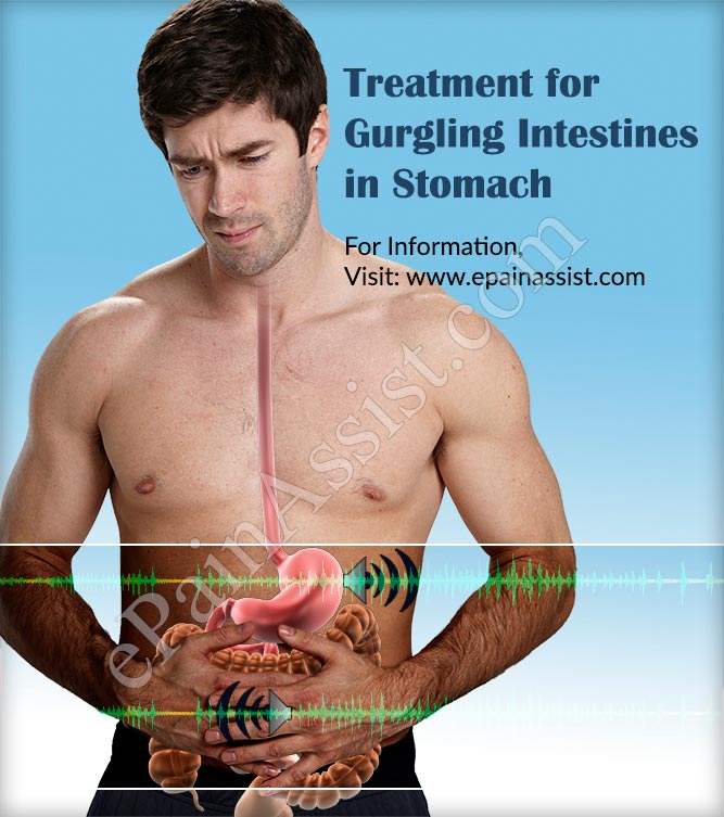 Treatment for Gurgling Intestines or Growling Sounds in Stomach