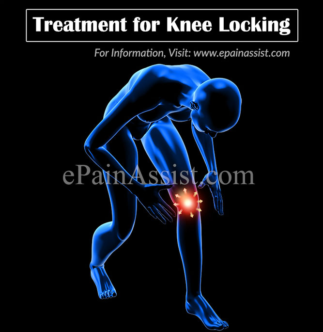 how to fix a locked knee