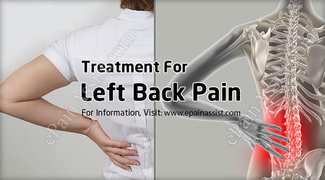 Treatment For Left Back Pain