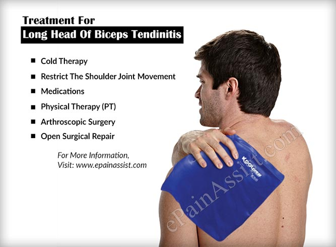 Treatment For Long Head Of Biceps Tendinitis