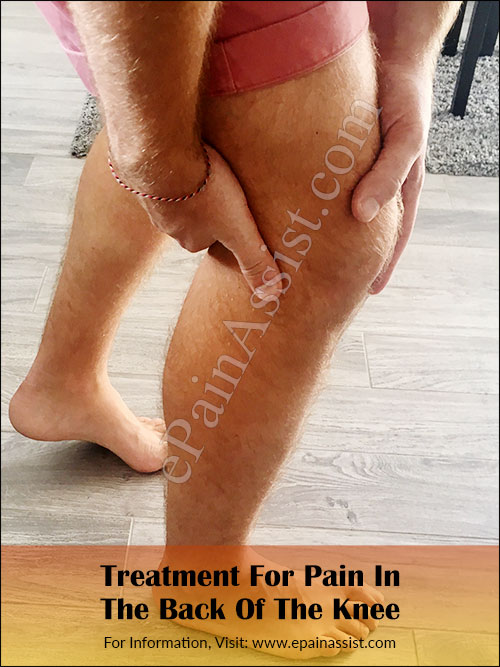 Treatment For Pain In The Back Of The Knee