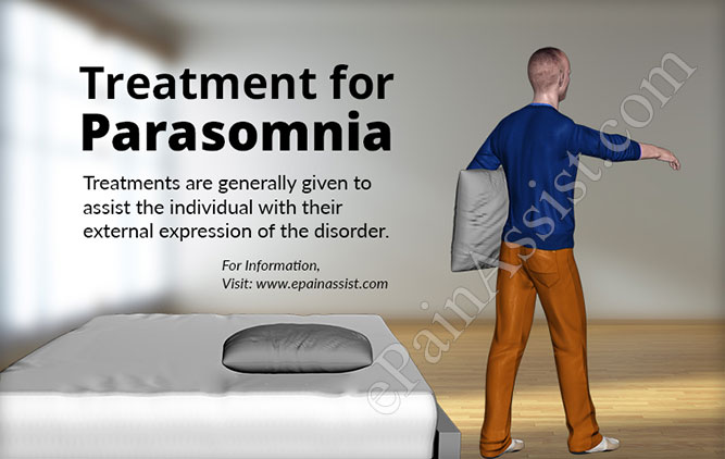Treatment for Parasomnia