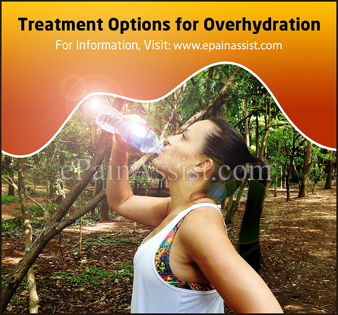 Treatment Options for Overhydration