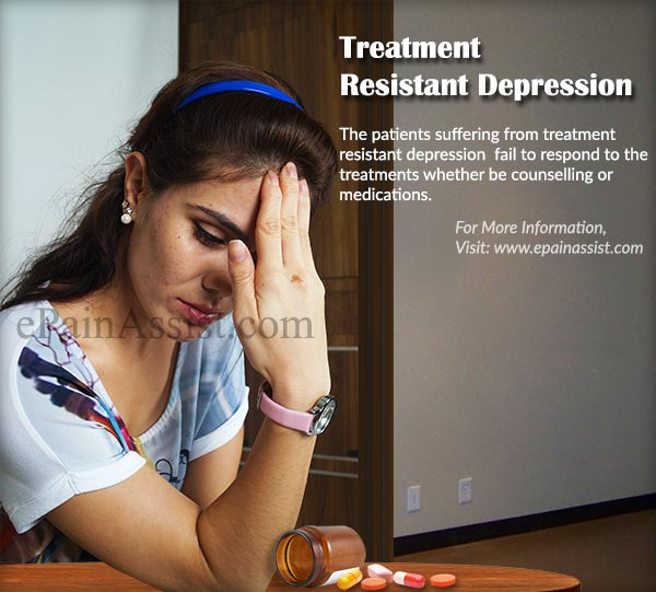 Treatment Resistant Depression or Treatment Refractory Depression