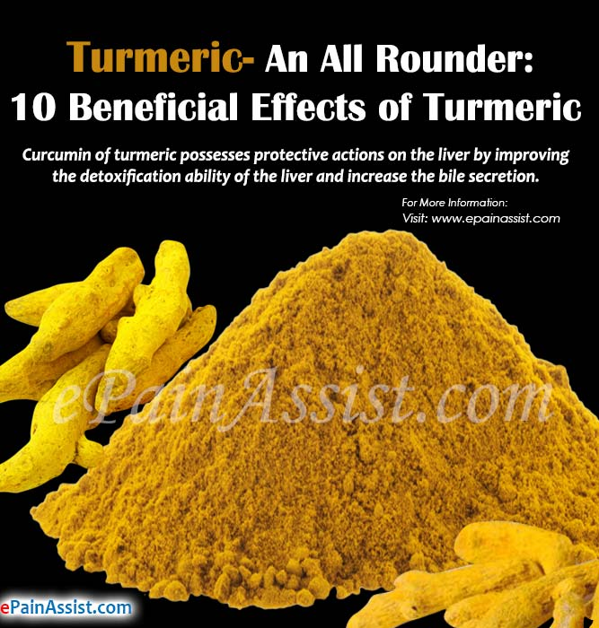 Turmeric- An All Rounder: 10 Beneficial Effects of Turmeric