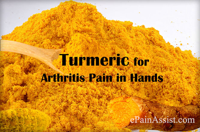 Turmeric for Arthritis Pain in Hands