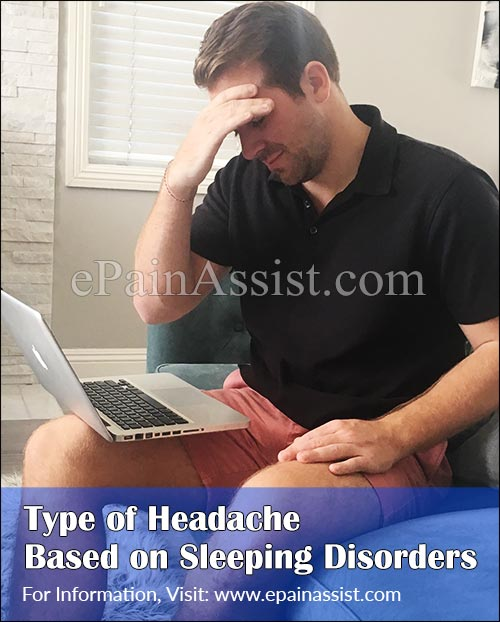 Type of Headache Based on Sleeping Disorders