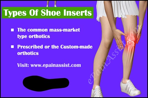Types Of Shoe Inserts