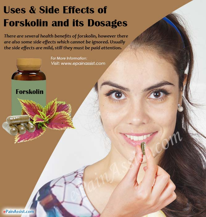 Uses & Side Effects of Forskolin and its Dosages