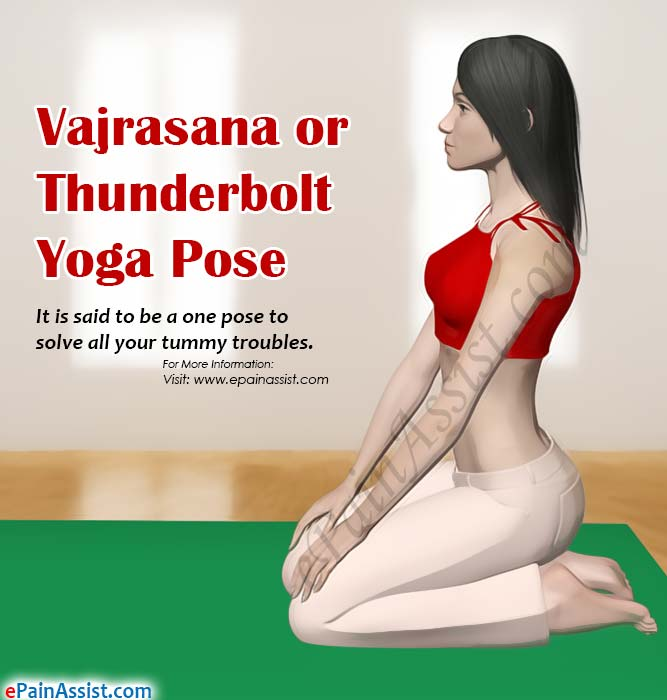 Technique for Practicing Vajrasana or Thunderbolt Yoga Pose