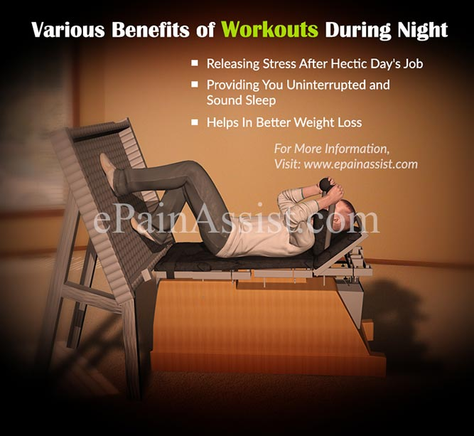 Various Benefits of Workouts During Night
