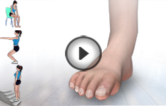 6 Best Exercises for High Ankle Sprain 3D Video