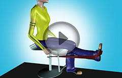 Physical Therapy Exercises for Knee Pain- Flexion, Extension, Calf Raise