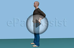 Standing Back Bend - The Exercise for Herniated Disc or Disc Bulge