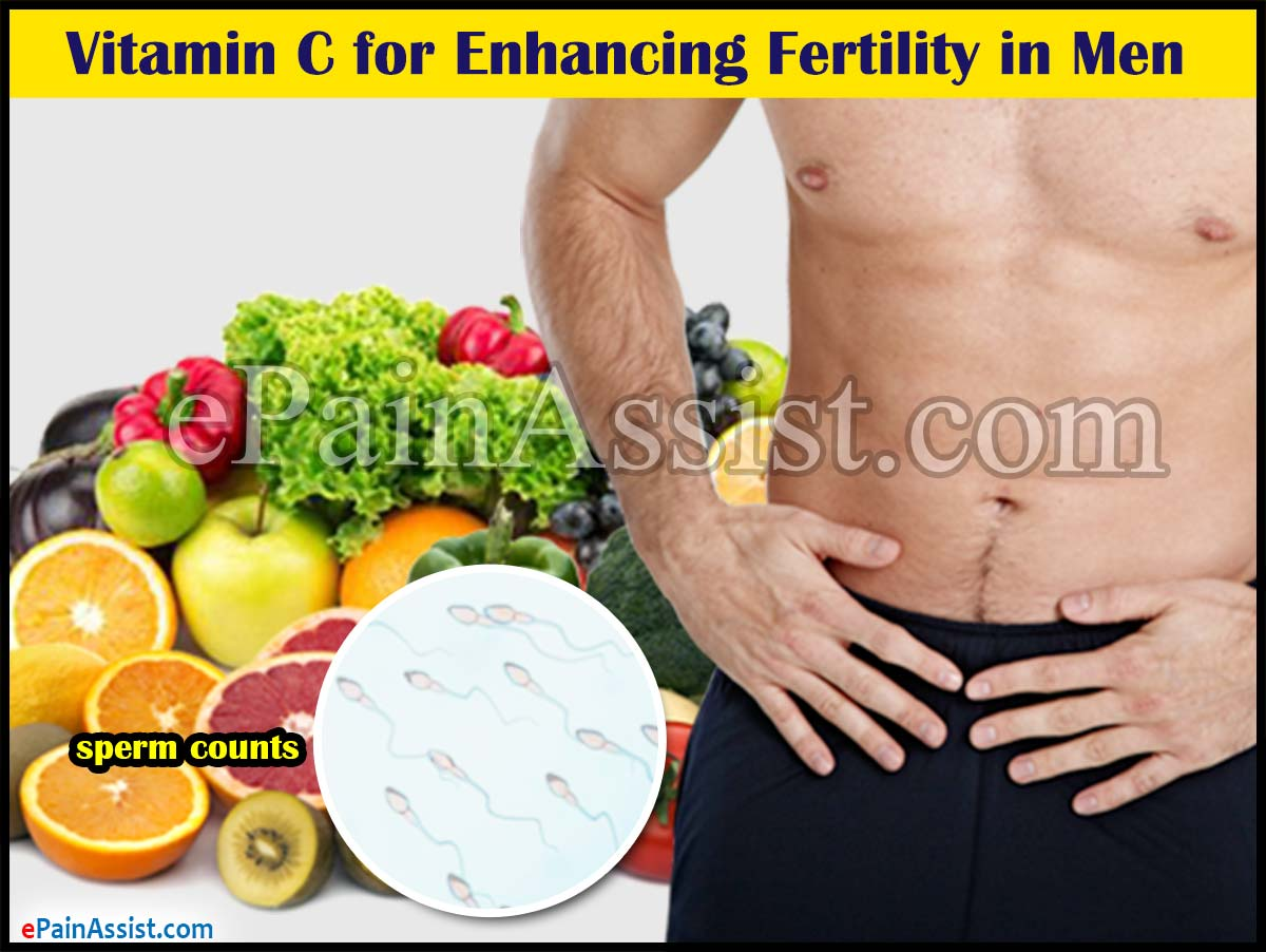 Vitamin C for Enhancing Fertility in Men