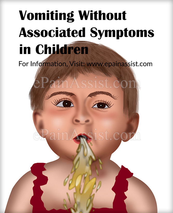Vomiting Without Associated Symptoms in Children