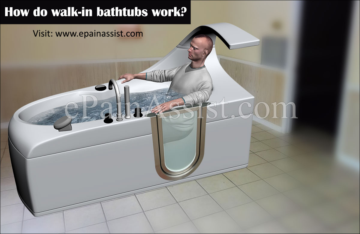 How Do Walk In Bathtubs Work?