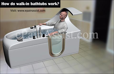 Delightful How Do Walk In Bathtubs Work?