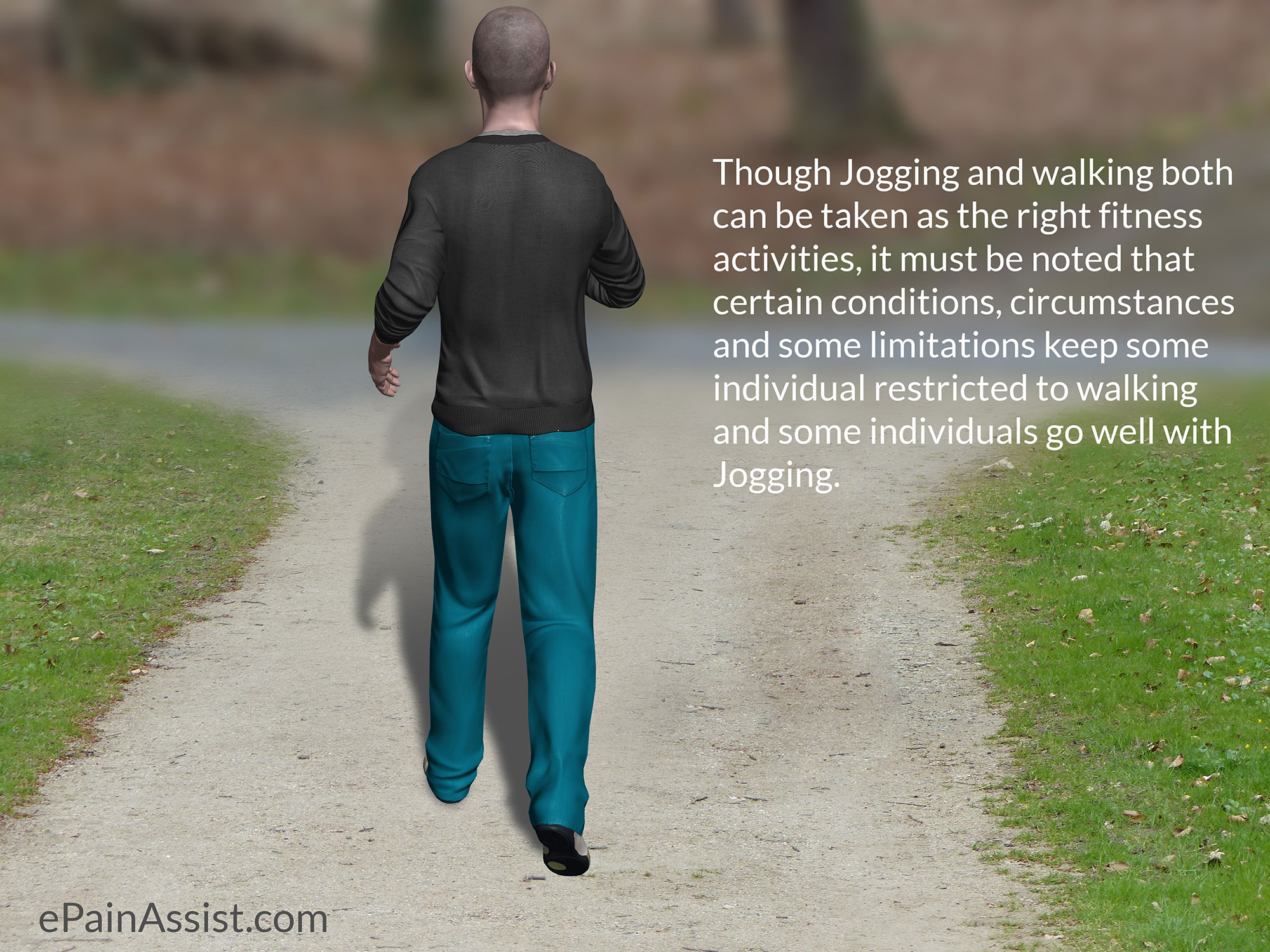 Walking or Jogging-Which is Better?