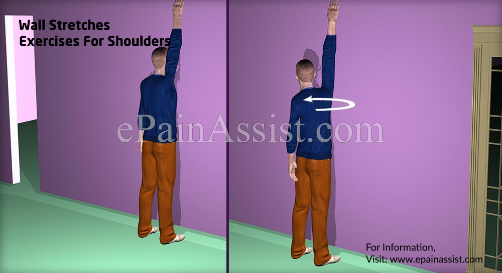 Wall Stretches Exercises For Shoulders
