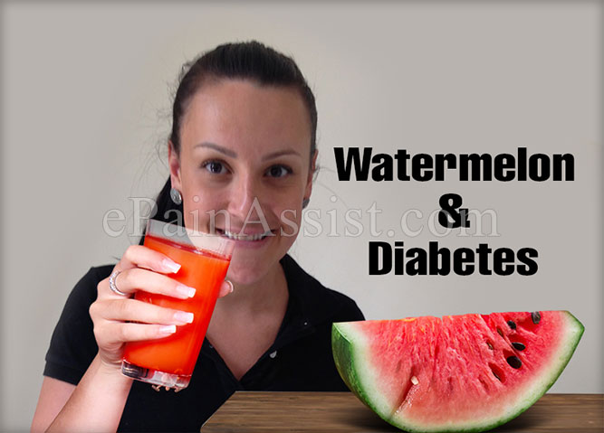 Watermelon & Diabetes