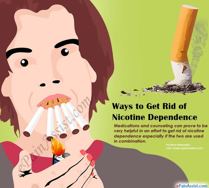 Ways to Get Rid of Nicotine Dependence or Tobacco Dependence