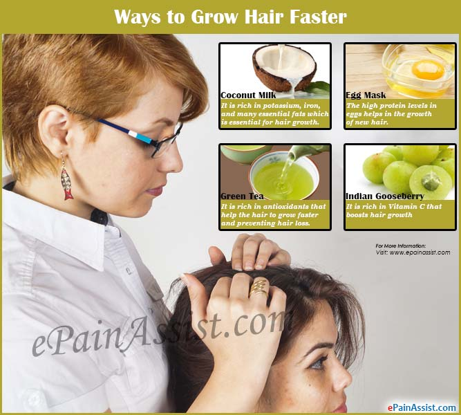 Ways to Grow Hair Faster